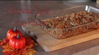 Granola Apple Crisp Recipe