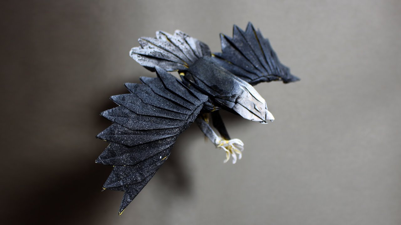 How To Make An Origami Eagle Henry Pham