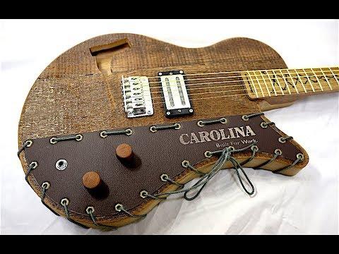 Reclaimed Barn Wood Semi-Hollow Guitar #SwayCarolina