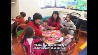 UNICEF MNE - Dnevni centri za djecu sa smetnjama u razvoju/ DCCs for Children with Disabilities