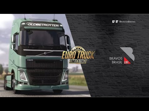 🔴► AO VIVO Euro Truck Simulator 2 # 112 heavy cargo pack