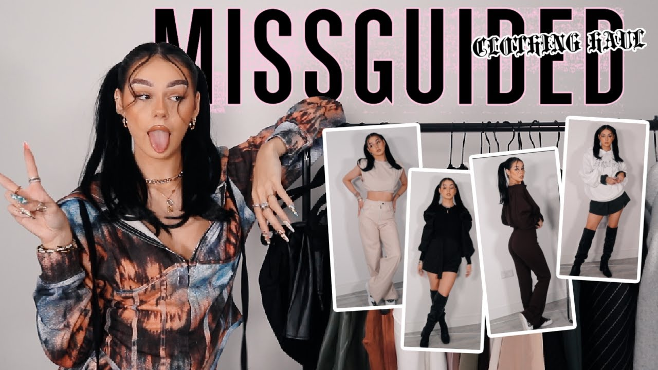 HUGE TRY ON A/W MISSGUIDED TRY ON HAUL W/ DISCOUNT CODE AD
