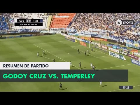 Resumen de Godoy Cruz vs Temperley (3-0) | Fecha 23 - Superliga Argentina 2017/2018