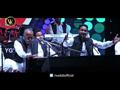 Dama Dam Mast Kalandar | Lakhwinder Wadali & Ustad Puran Chand Wadali | Wadali Brothers