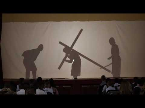 Incarnate Word Academy Shadow Stations of the Cross