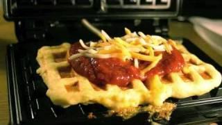 Waffle Pizza Tutorial Thumbnail