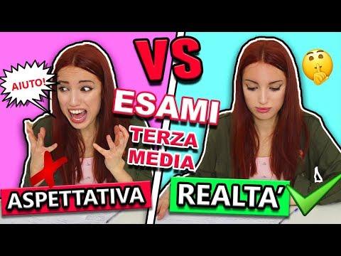 ESAMI di TERZA MEDIA Aspettativa VS Realtà
