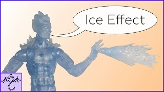 How to Make an Iceman Ice Effect, DIY Marvel Legends Accessory Toda...
