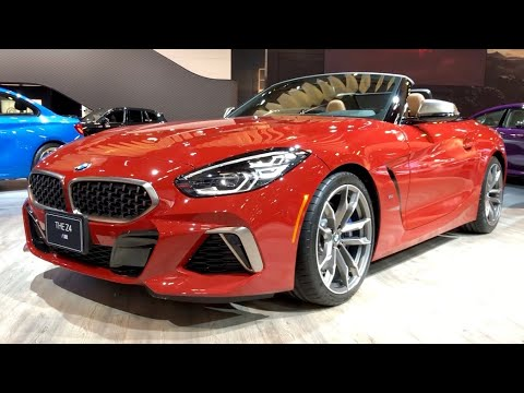 2020 BMW Z4 M40i 382HP Red Metallic | In-Depth Video Walk Around
