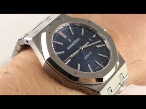 Audemars Piguet Royal Oak Blue Dial 15400ST Luxury Watch Review