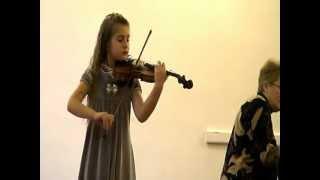 Алёна Гринберг - скрипка   Alena Greenberg  - violin