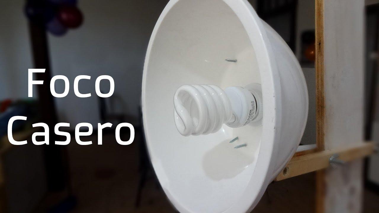 Como hacer un foco casero para iluminaci n de bajo costo - Focos de bajo consumo para exterior ...