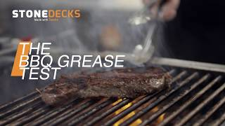 Barbecue Grease vs. Tanzite Stonedeck, because life happens
