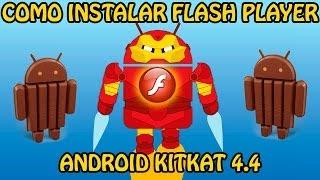 Cómo instalar Flash Player en Android 4.4 KitKat (2 métodos) (Root no necesario) (Tutorial)