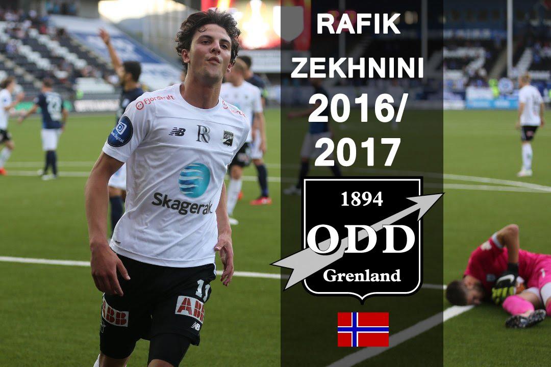 Rafik Zekhnini Odd Goals Skills Assists 20162017 Hd