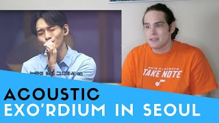 Video Voice Teacher Reacts to EXO'rDIUM IN SEOUL - ACOUSTIC MEDLEY download MP3, 3GP, MP4, WEBM, AVI, FLV Agustus 2018