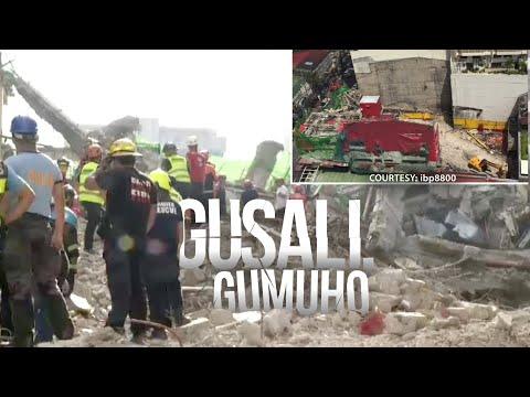 24 Oras: Ginigibang gusali, gumuho; Dalawa patay