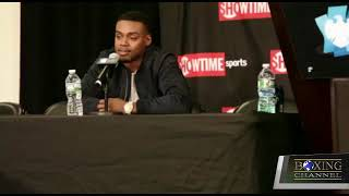 ERROL SPENCE SET TO FACE LAMONT PETERSON