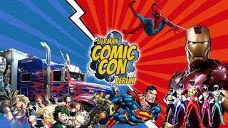 Mein Rundgang auf der German Comic Con in Berlin 2019