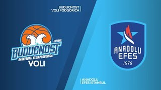 #EuroLeague 28 Hafta: Buducnost Voli - Anadolu Efes