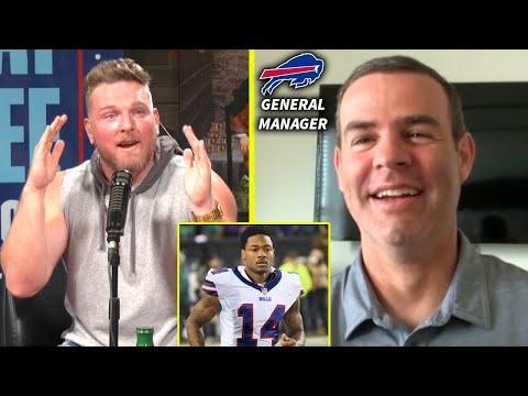 Bills GM Talks Why Josh Allen Is Their Guy, Stefon Diggs, And Bills Mafia