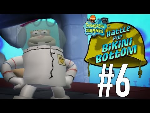 Sandy CHEEKS you say?? | SpongeBob SquarePants: Battle for Bikini Bottom - PART 6