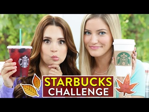 Generate STARBUCKS CHALLENGE: Fall Drinks! Snapshots