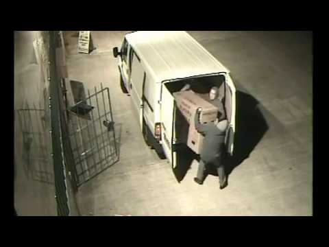 armed robbery caught on  camera south africa