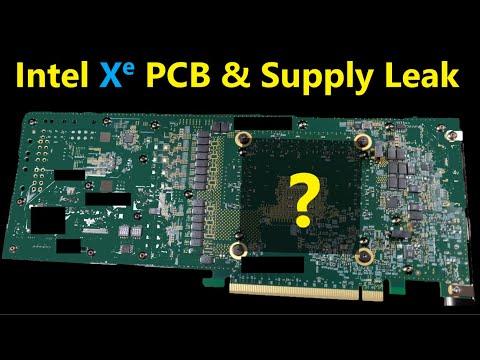 Intel Xe DG2 PCB & Supply Leak: GPU Competition returns in Q1 2022