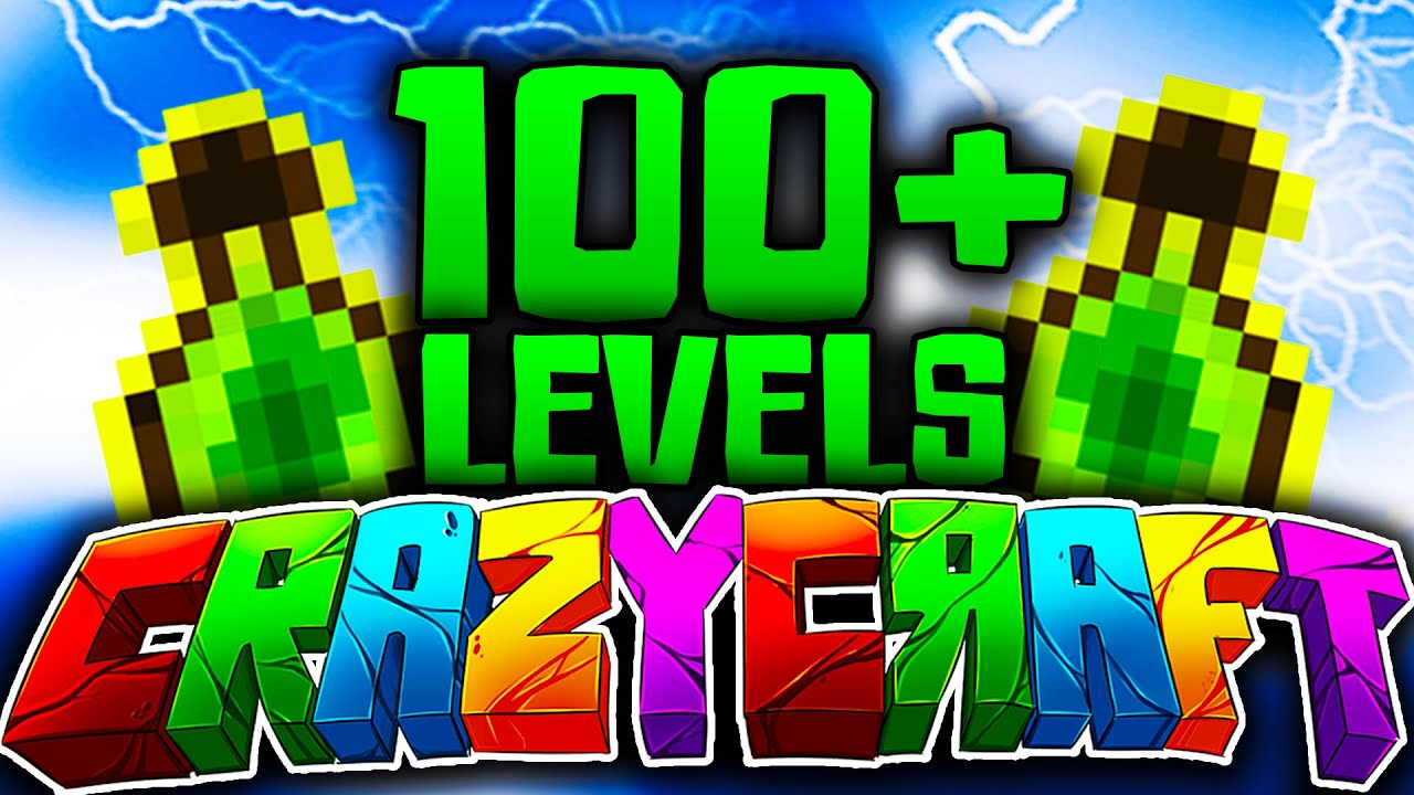 Minecraft crazy craft 3 0 18 quot easy levels in crazy craft quot youtube