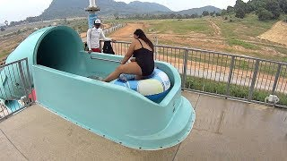 RamaYana Water Park in Thailand (Playful Music Clip!)