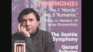 Hanson Symphony No. 2 Romantic (Schwarz/Seattle Symphony) (1/3)
