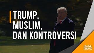 Tuai Kontroversi, Trump Retweet Video anti Islam