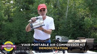 Viair Portable RV Air Compressor Demonstration