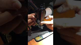 THREADING A SINGER 15 Treadle …