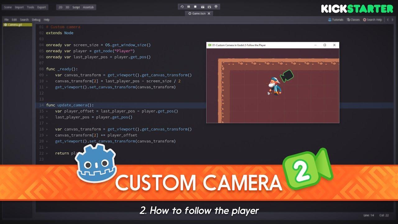 gamemaker how to make camera follow player