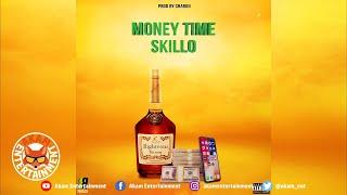 Skillo - Money Time [Righteous Riddim] Audio Visualizer