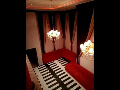 The curtain looks very beautiful