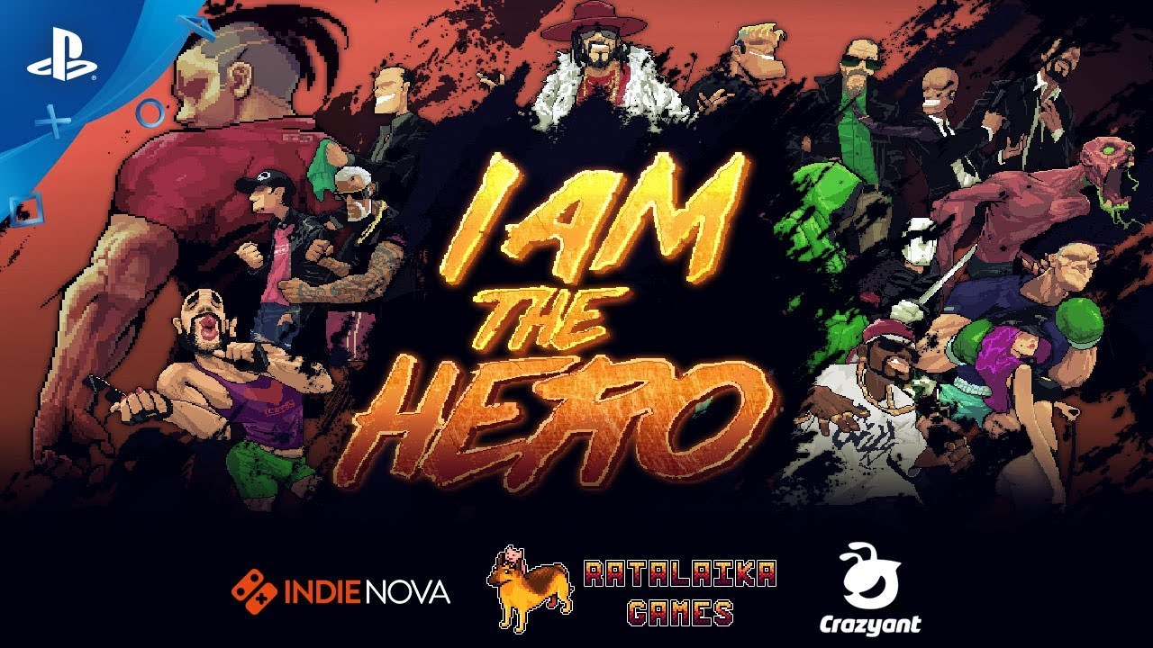 I Am The Hero - Launch Trailer | PS4, PS Vita