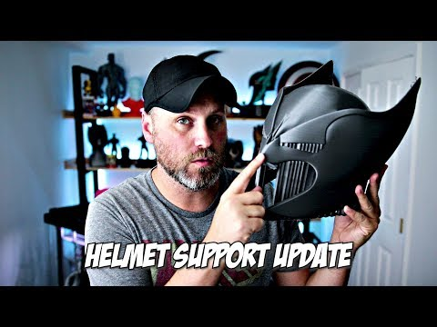 UPDATE! 3D Printing Helmet Orientation - No Center Support!!