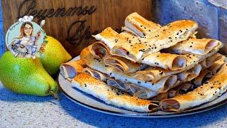 Трубочки с сыром и творогом на завтрак Лаваш с начинкой Рецепт завтрака