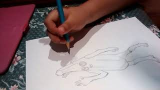 Dibujando ala Skin de banana de Fortnite 1Parte lFortnite lDrawsKevin