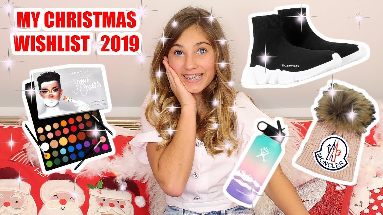 My Christmas Wishlist 2019 Rosie Mcclelland Youtube