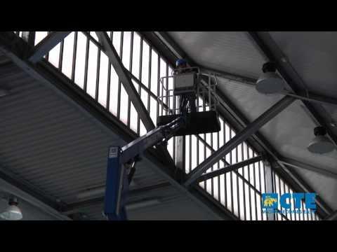 Piattaforma aerea semovente cingolata Traccess CTE