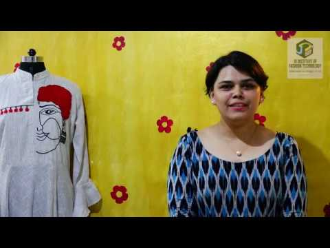 Chandana Alumni Of Jd Institute Of Fashion Technology Bangalore Youtube