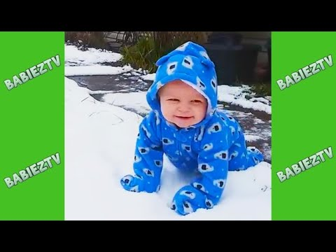 Funny Kids and Babies Snow Fails #2