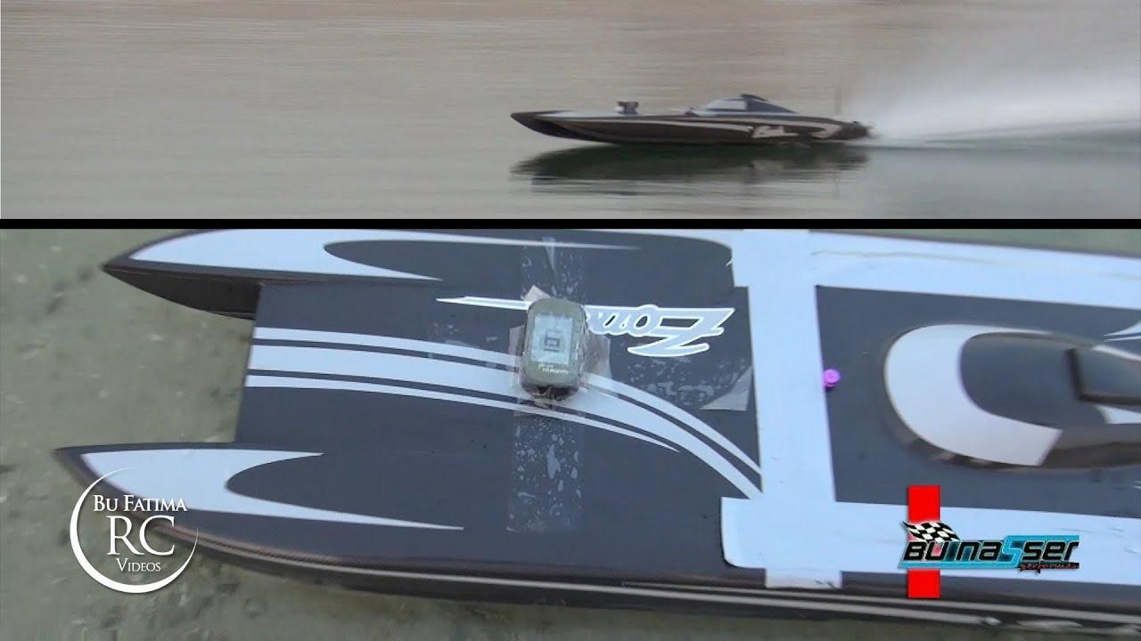 Bu Nasser Testing RC Boat ZONDA
