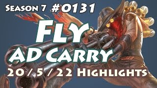 Longzhu Fly - Jhin with Alistar vs Ezreal - KR LOL Highlights | 플라이 진