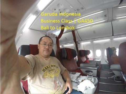 Full Flight Report Garuda Indonesia DPS-LOP  | Business Class GA 450