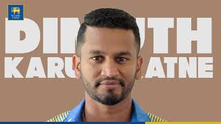 Dimuth Karunaratne to lead Sri Lanka during ICC Cricket World Cup 2019.